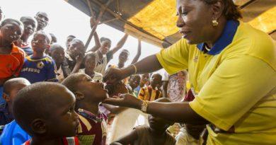 アフリカ地域の野生型ポリオウイルス根絶が宣言される