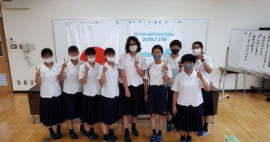 壱岐高校インターアクトの例会を開催しました