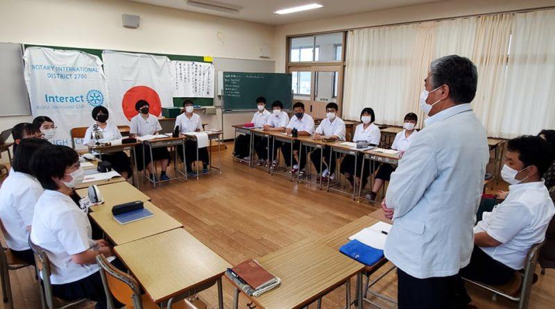 今年度最後の壱岐高校インターアクトの例会を開催しました